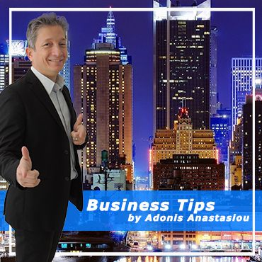 Free Business Tips by Adonis Anastasiou