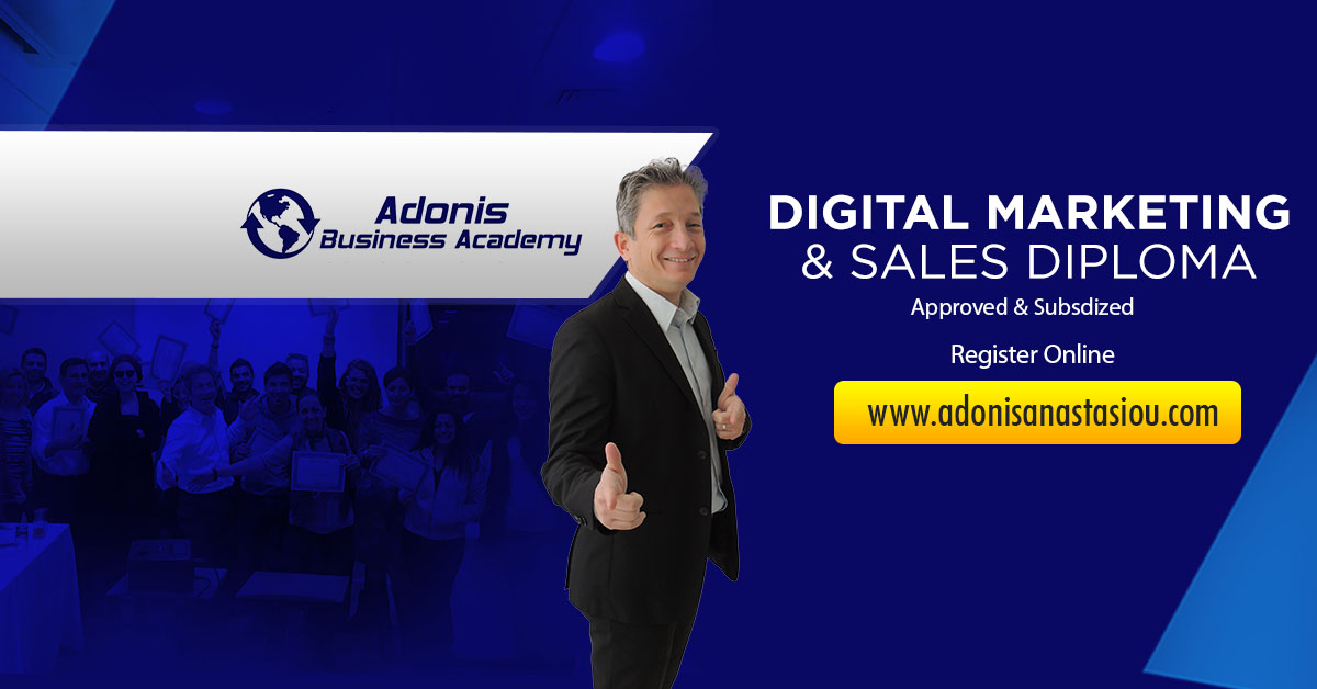 Digital Marketing and Sales Diploma Cyprus