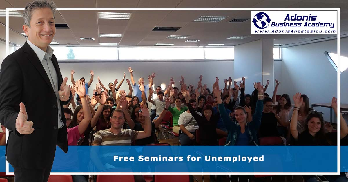 Free seminars for unemployed