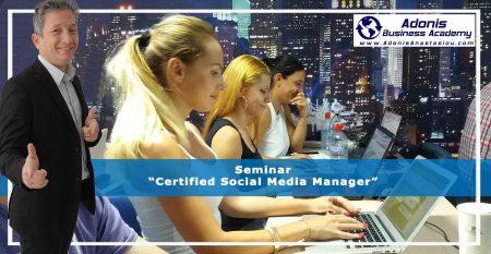 Seminar Certified Social Media Manager 1200X628
