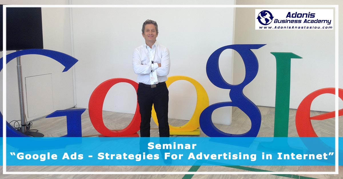 Seminar Google Ads - Strategies For Advertising in Internet