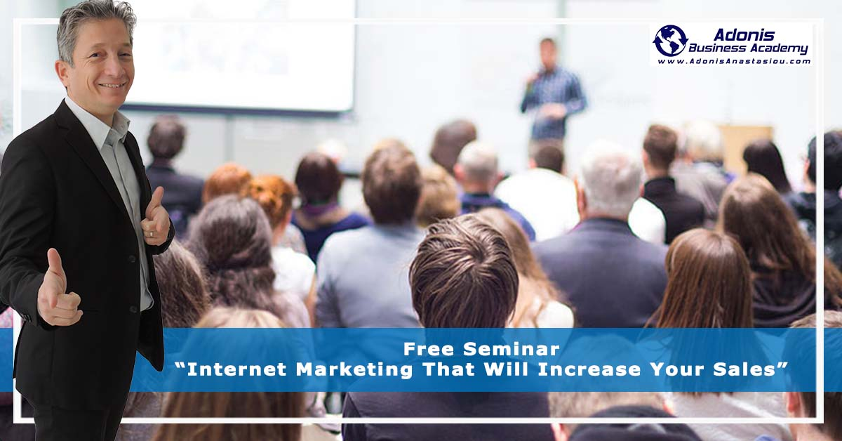 Free Seminar Internet Marketing Nicosia Cyprus