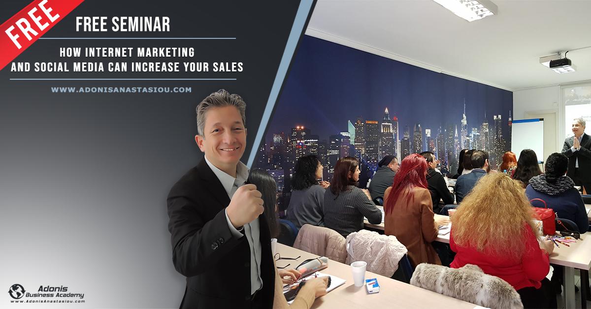 Seminar How Internet Marketing Can Increase Sales