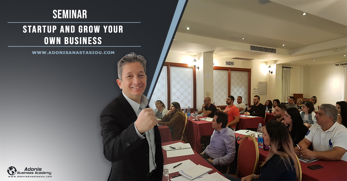 Seminar Startup Your Business Cyprus