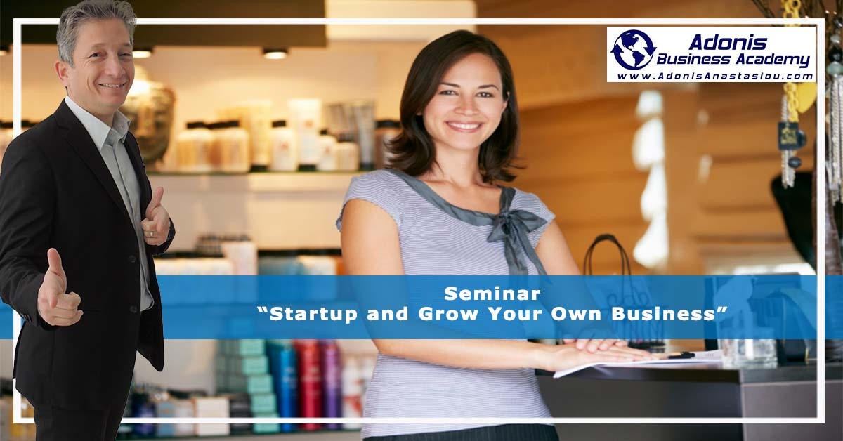 Startup and Grow Your Own Business