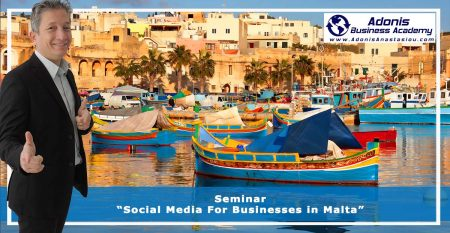 Seminar Social Media For Businesses in Malta