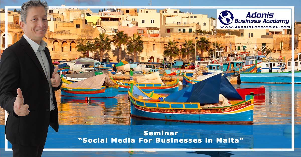Seminar Social Media For Businesses in Malta