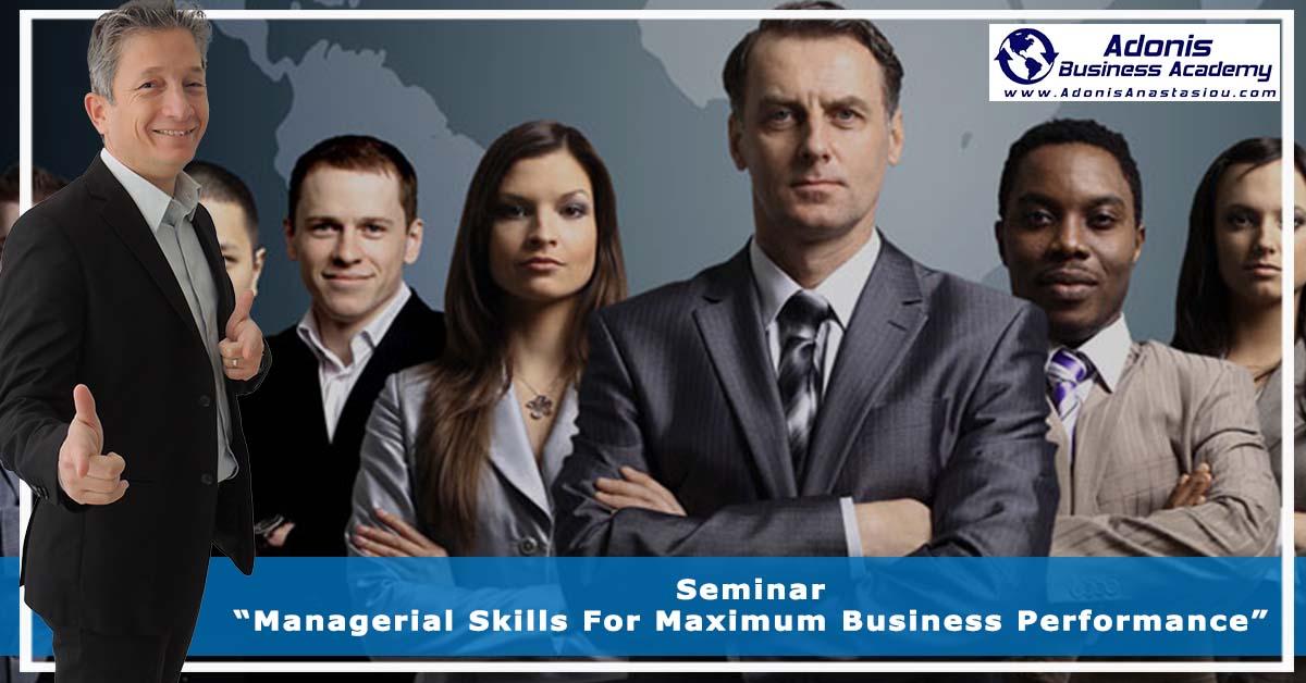 Seminar Leadership for Maximum Business Performance