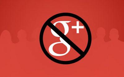 Google+ shut down