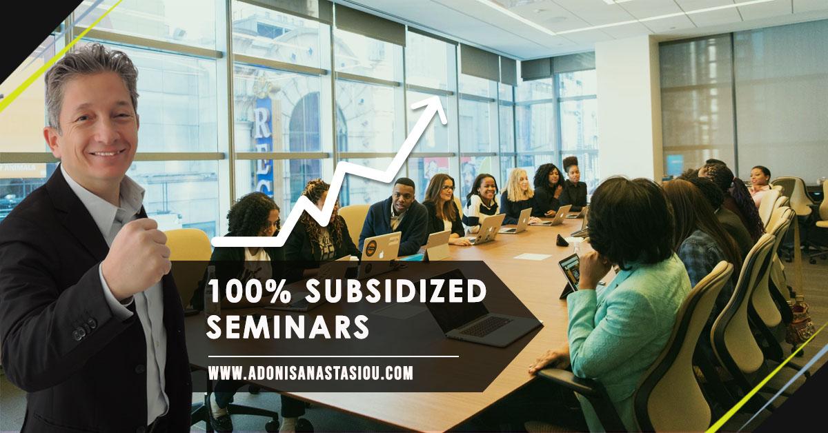 100% Subsidized Seminars