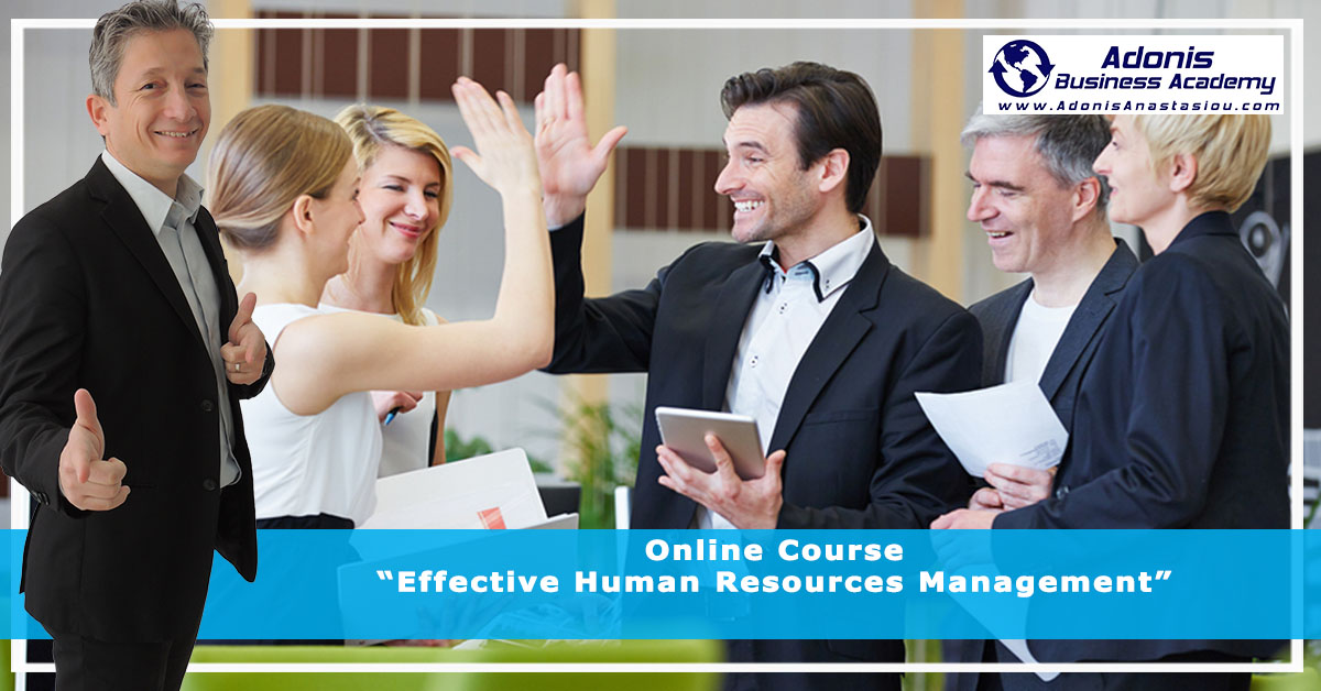 Online Course Effective Human Resource Management