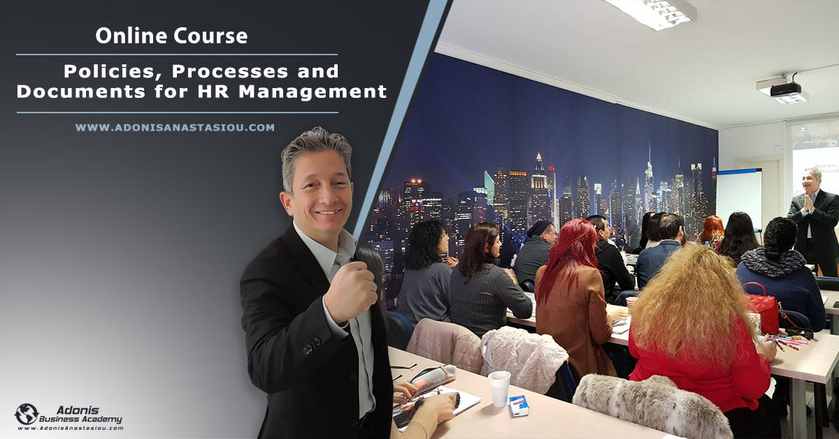 Online course Policies, Processes and Forms For HR Management