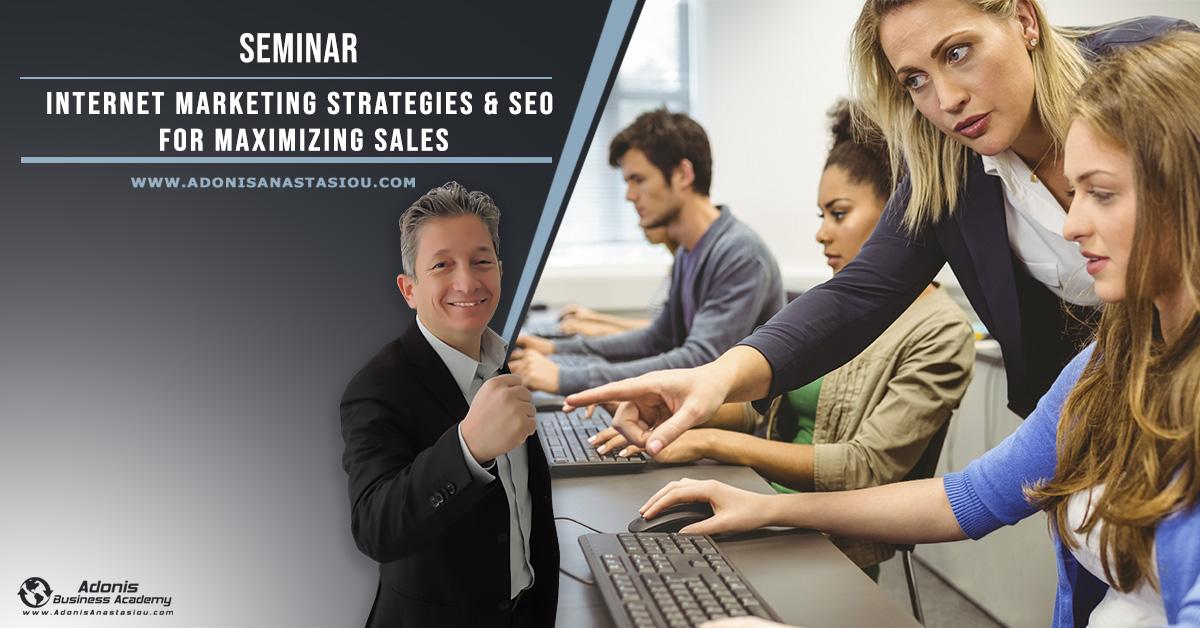 Seminar Internet Marketing & SEO For Maximizing Sales