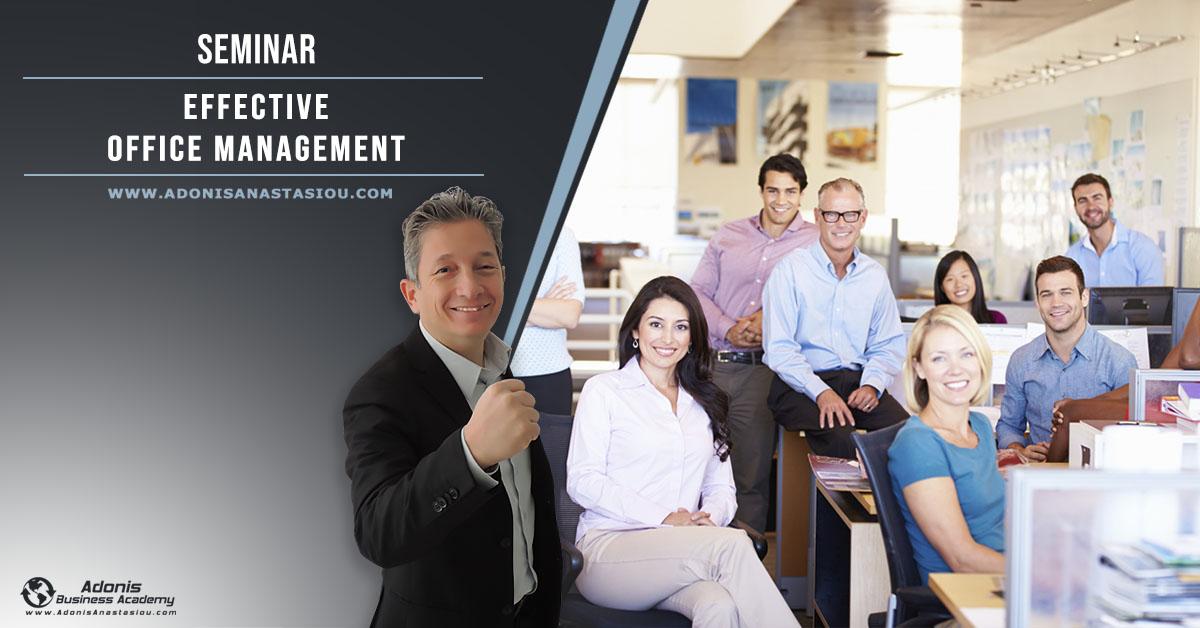 Seminar Effective Office Management