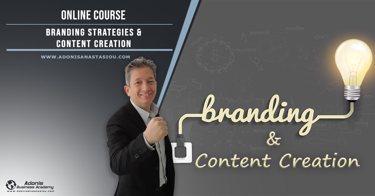 Online Course Branding and Content Creation